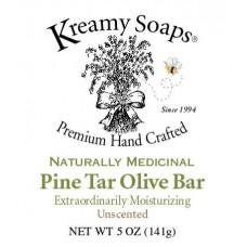 Kreamy Soaps Pine Tar Soap